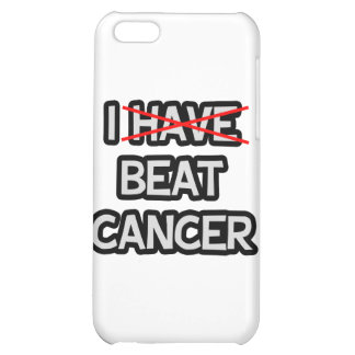 I Beat Cancer iPhone 5C Covers