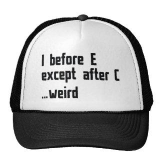 I Before E Cap