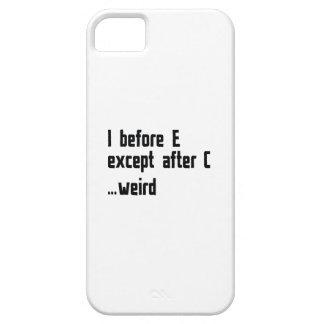 I Before E iPhone 5 Cover
