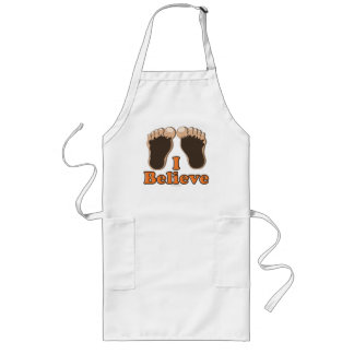 I Believe Bigfoot Apron