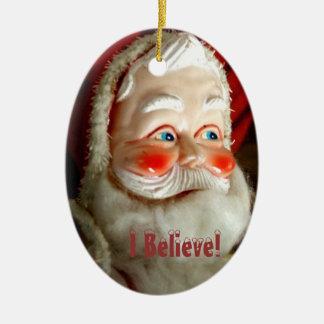 I Believe! Ceramic Oval Decoration