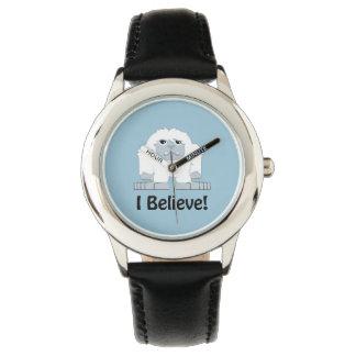 I Believe! Cute Yeti Wristwatch