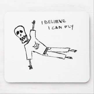 i BELIEVE i can fly Mouse Pad
