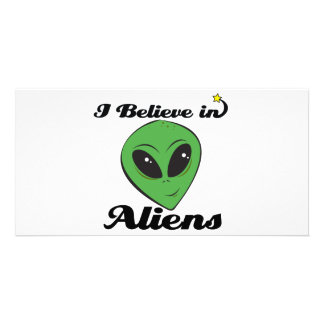 i believe in aliens photo cards
