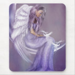 I Believe In Angels Mousepads