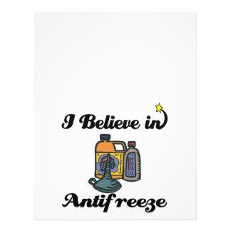 i believe in antifreeze 21.5 cm x 28 cm flyer
