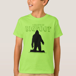 I Believe In Bigfoot For Kids T-shirt