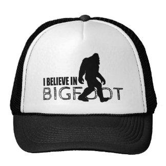 I Believe in Bigfoot  Funny Sasquatch Cap