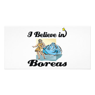 i believe in Boreas Photo Greeting Card