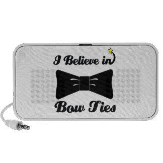 i believe in bow ties travelling speaker