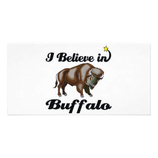 i believe in buffalo photo cards