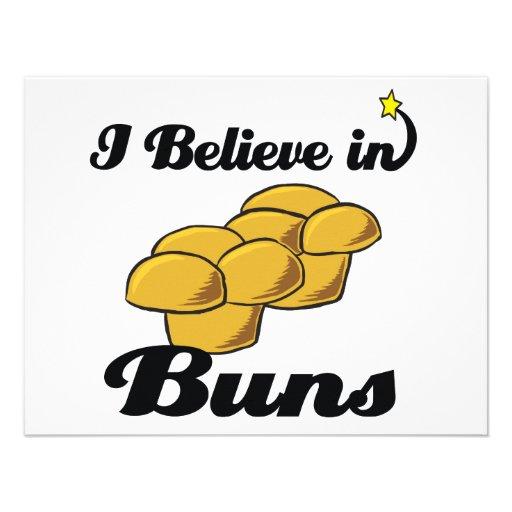 i believe in buns invitation