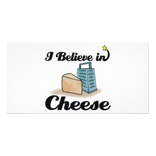 i believe in cheese photo cards