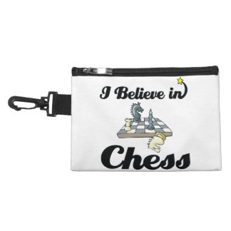 i believe in chess accessory bag