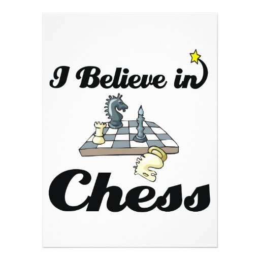 i believe in chess announcements