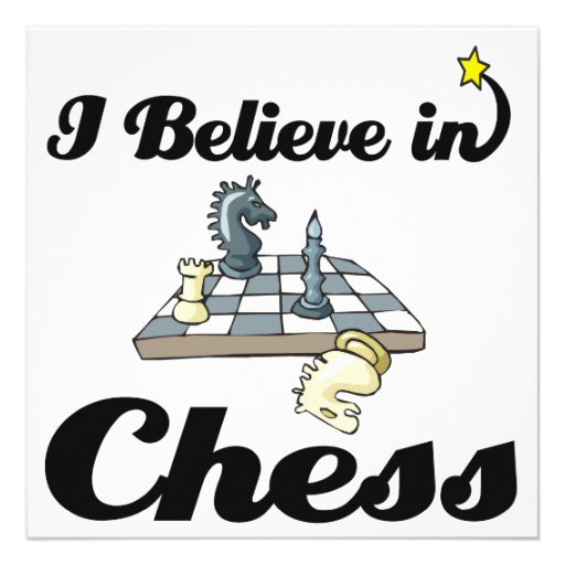 i believe in chess announcement