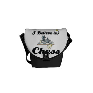 i believe in chess commuter bags