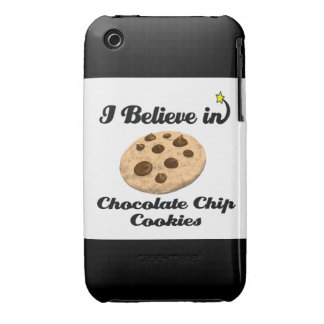 i believe in chocolate chip cookies iPhone 3 cases