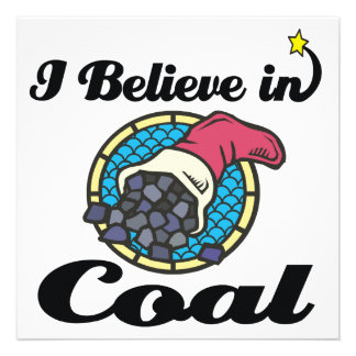 i believe in coal personalized announcements