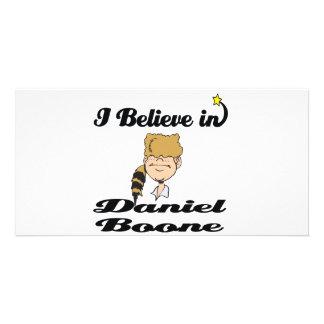 i believe in daniel boone photo card template