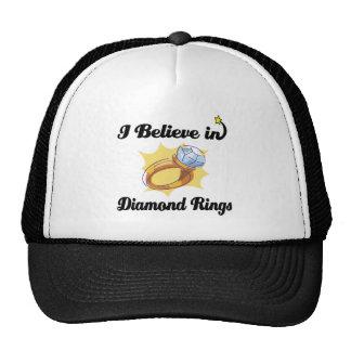 i believe in diamond rings cap