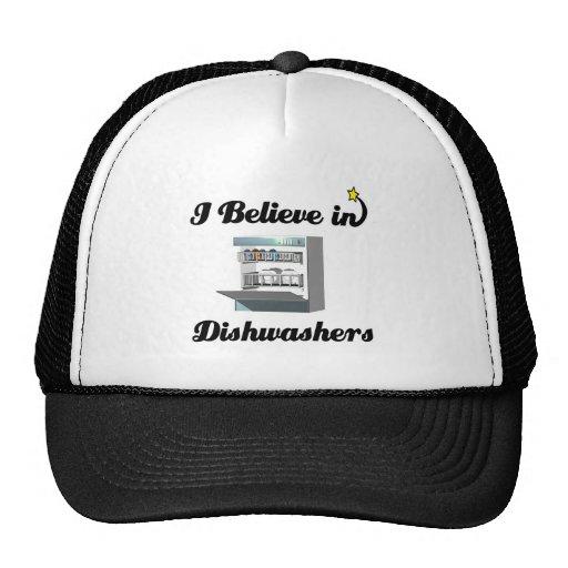 i believe in dishwashers cap