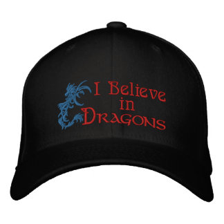 I Believe in Dragons Baseball Cap