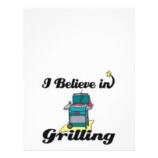 i believe in grilling 21.5 cm x 28 cm flyer