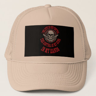 I believe In Gun Control Trucker Hat