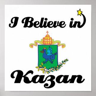 i believe in kazan poster