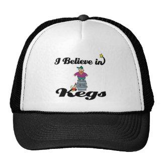 i believe in kegs trucker hats