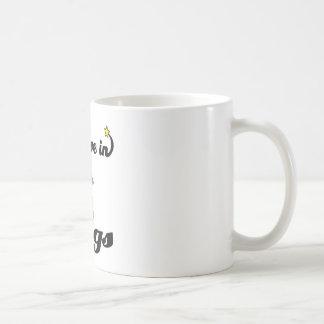 i believe in kegs mug