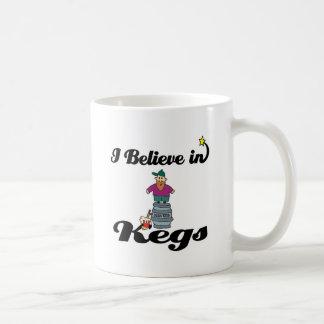 i believe in kegs mugs