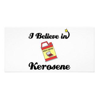 i believe in kerosene photo card template