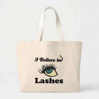 i believe in lashes bag