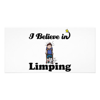 i believe in limping photo cards