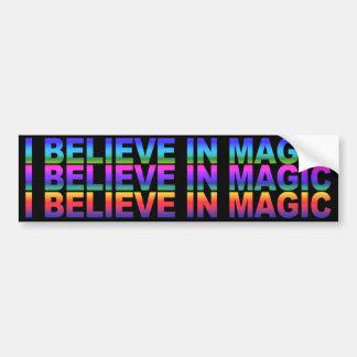 I Believe in Magic Bumper Sticker