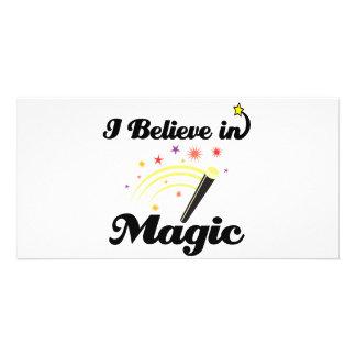 i believe in magic photo cards