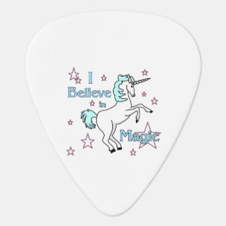I Believe In Magic Unicorn Guitar Pick