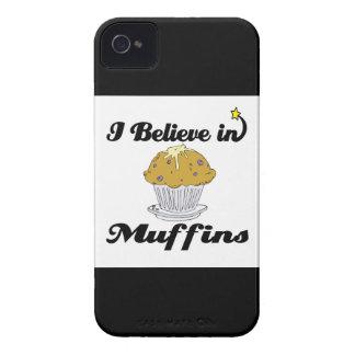 i believe in muffins iPhone 4 Case-Mate cases