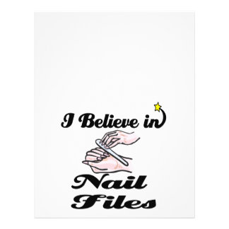 i believe in nail files flyers