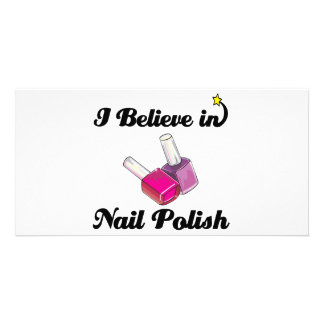 i believe in nail polish photo cards