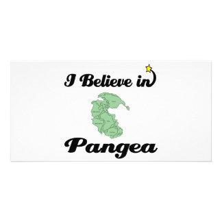 i believe in pangea photo card template