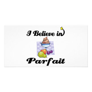 i believe in parfait picture card