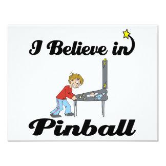 i believe in pinball card