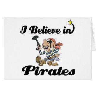 i believe in pirates card
