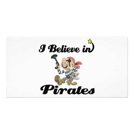 i believe in pirates photo cards