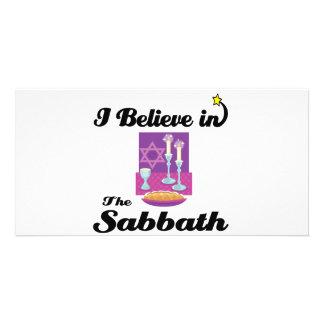 i believe in sabbath photo cards