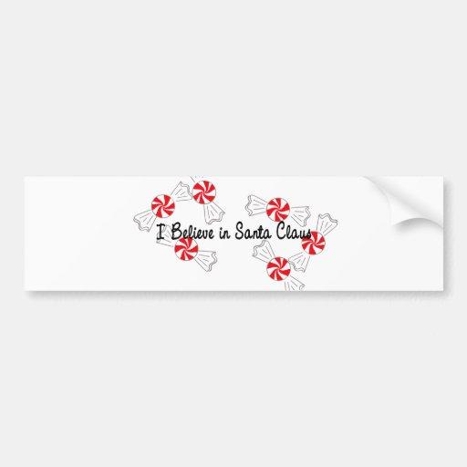 I Believe in Santa Claus Bumper Stickers