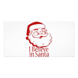 I Believe in Santa Photo Cards